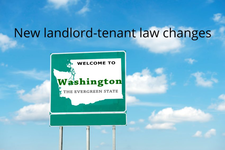 New Landlord-Tenant Laws in Washington State.